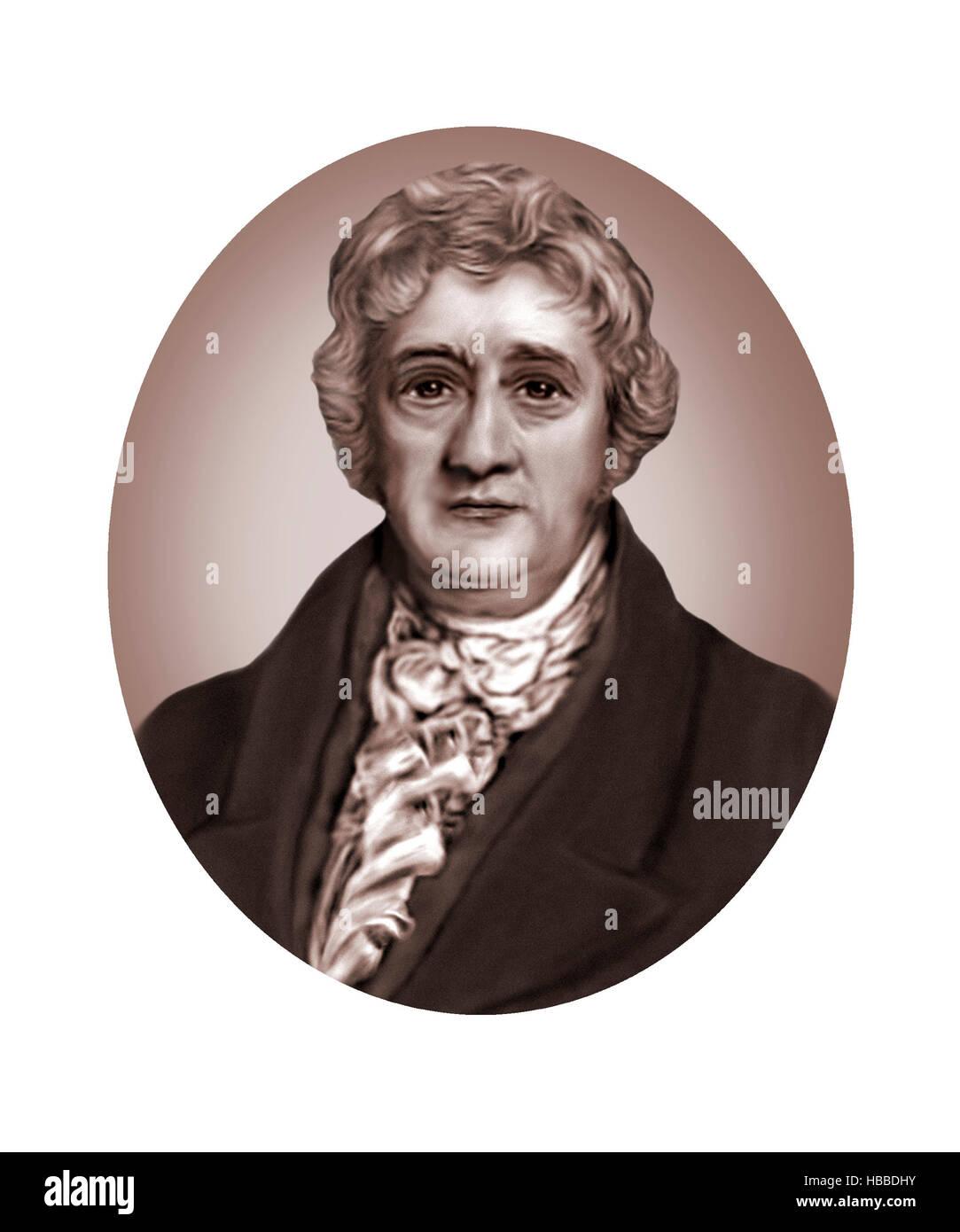 Thomas Clarkson, 1760-1846, Abolitionist - Stock Image