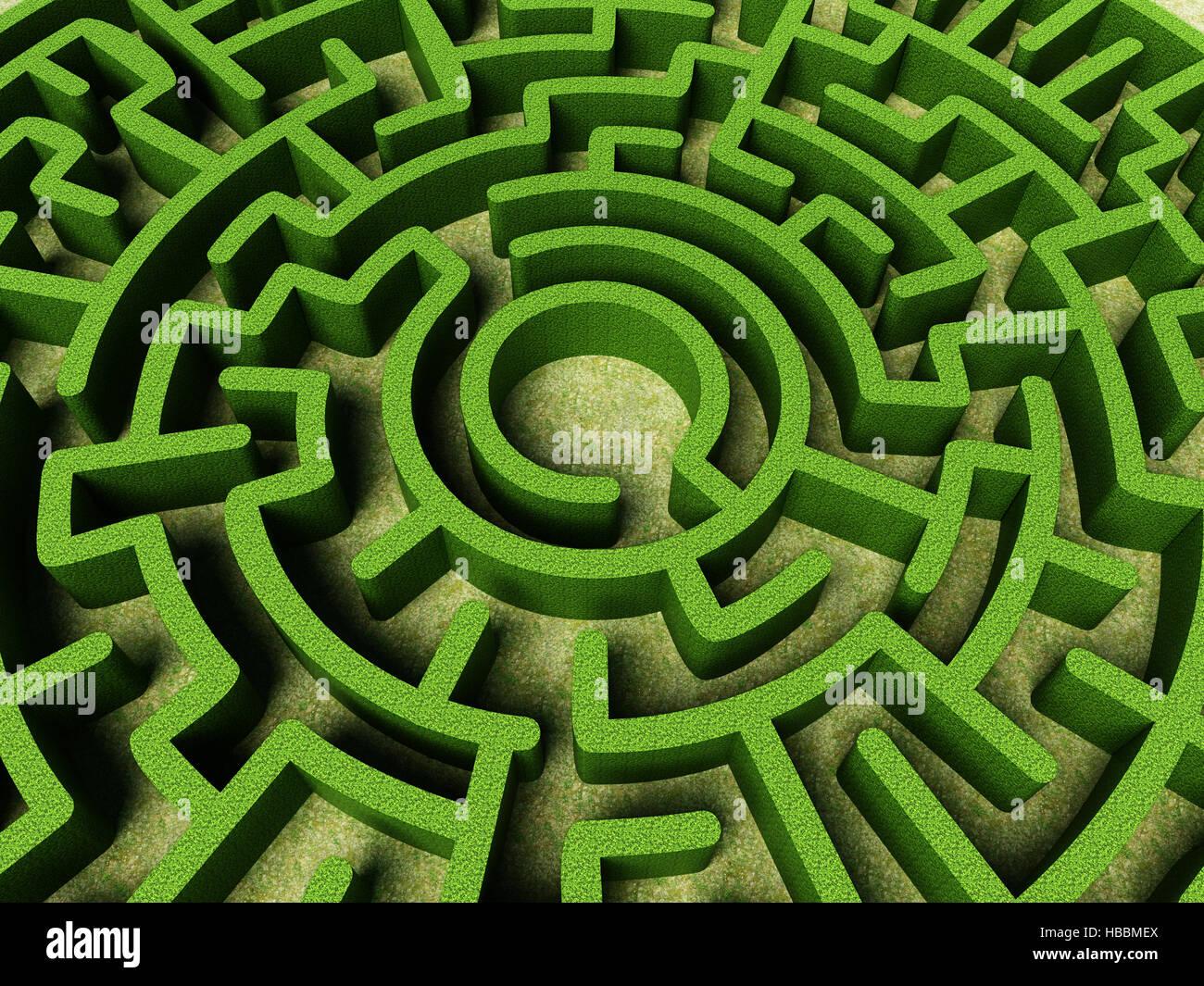 Round Maze Stock Photos & Round Maze Stock Images - Alamy on