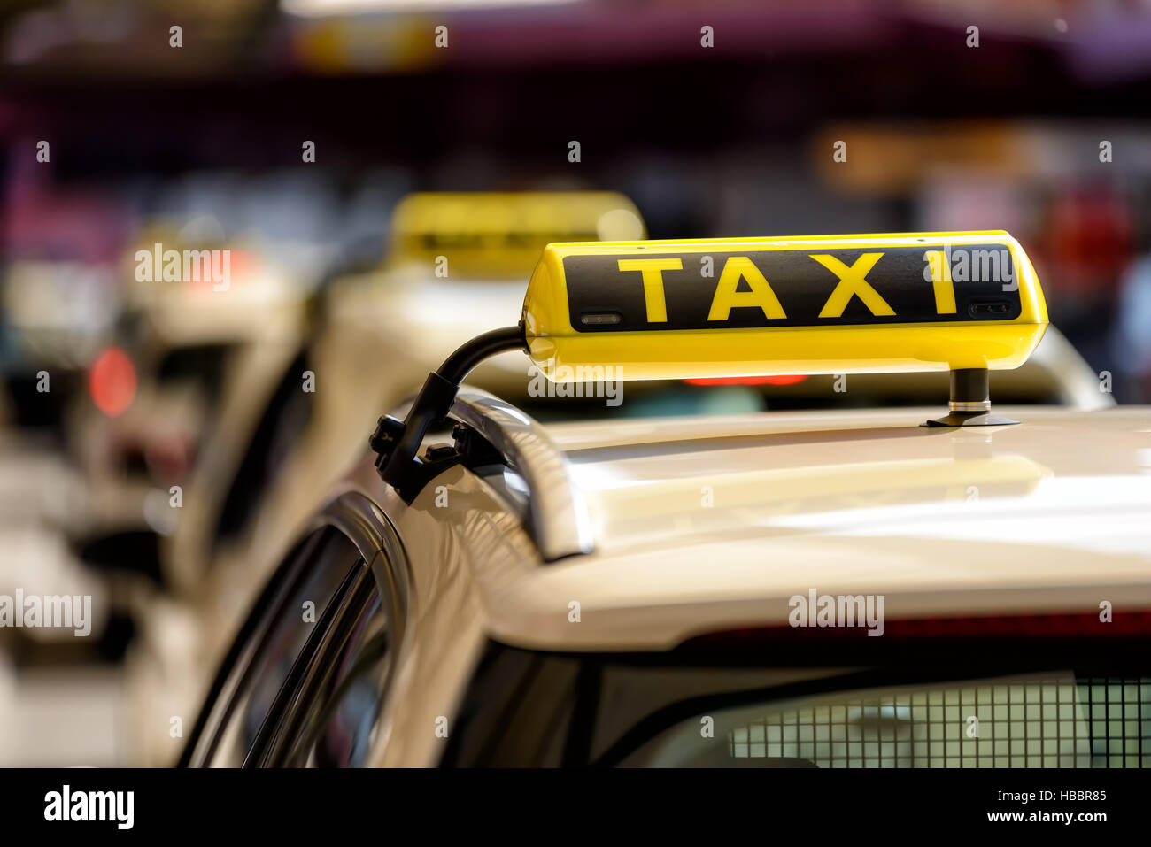 Taxi - Stock Image