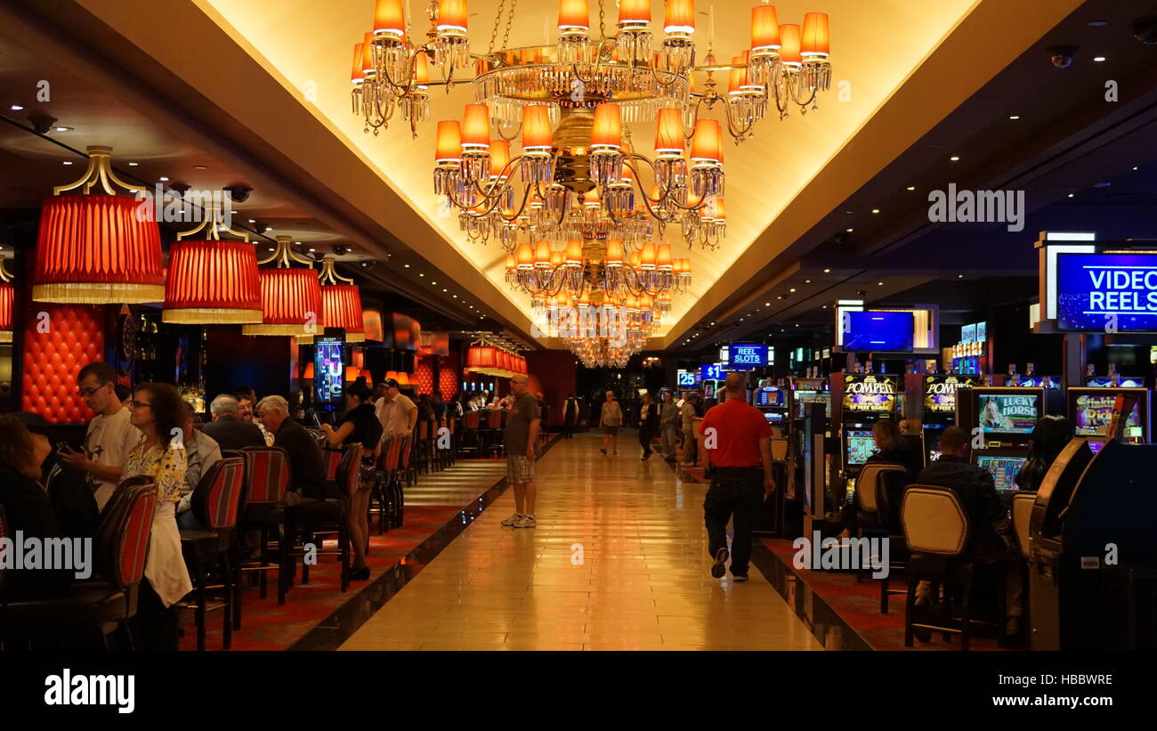 The Cromwell Las Vegas in Nevada - Stock Image