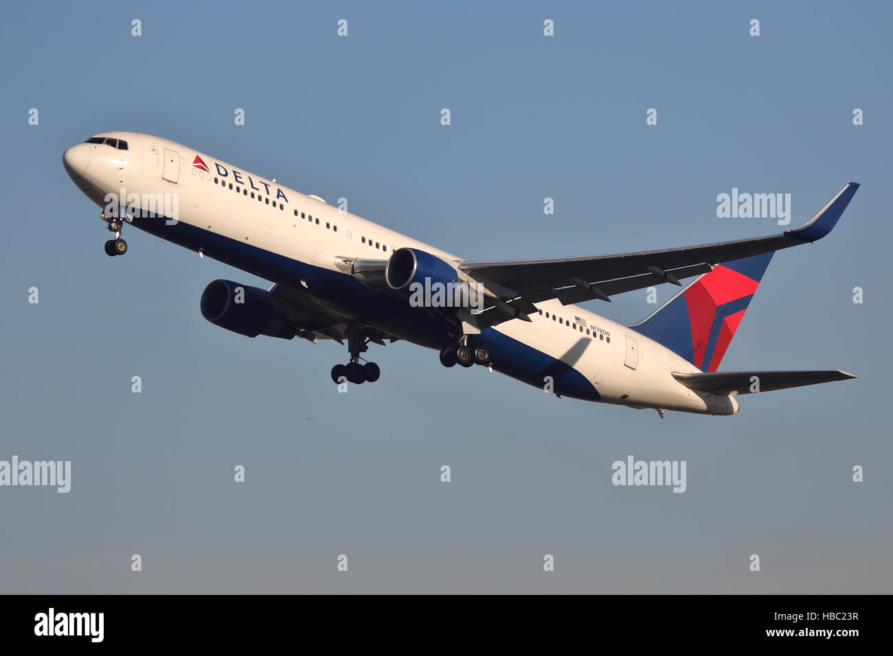 Delta Air Lines Boeing 767-300ER N178DN departing from