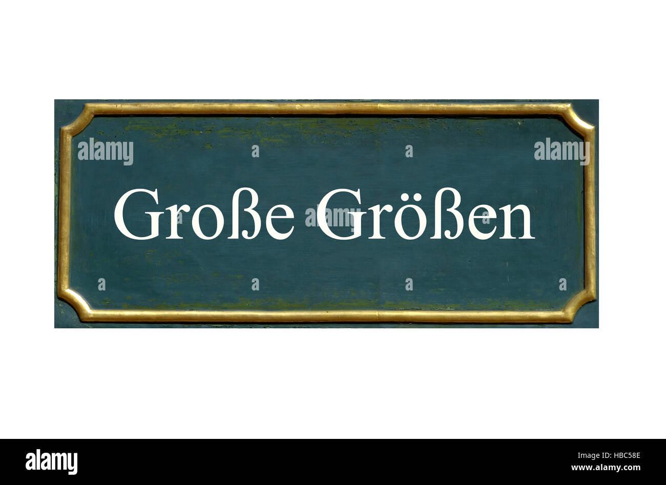 shield grosse groessen - Stock Image