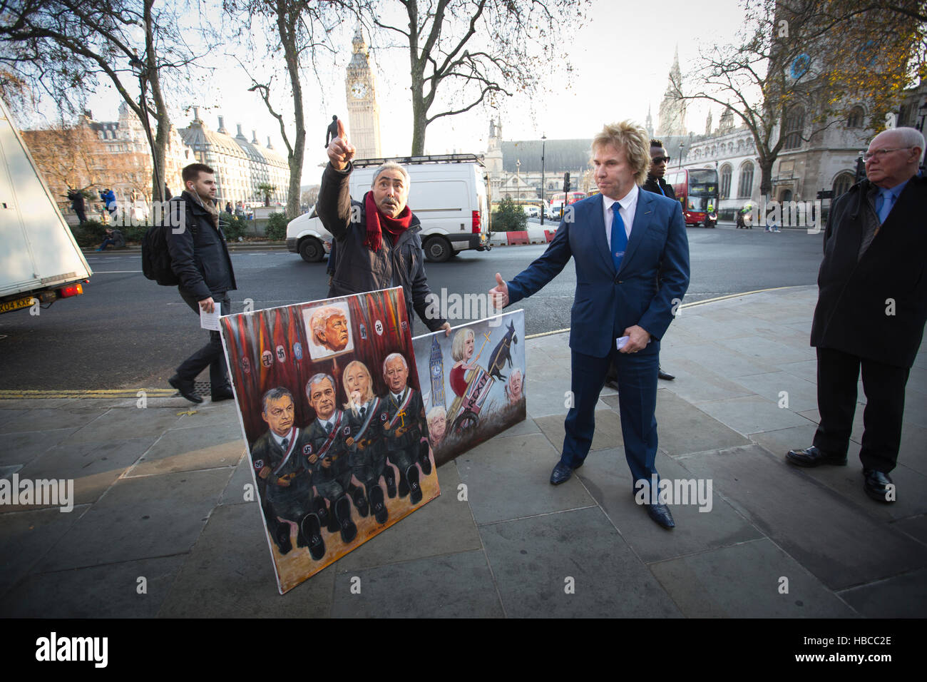 London, UK. 5th Dec, 2016. Supreme Court hears the landmark Article 50 appeal today, Westminster, London, UK. 05th - Stock Image