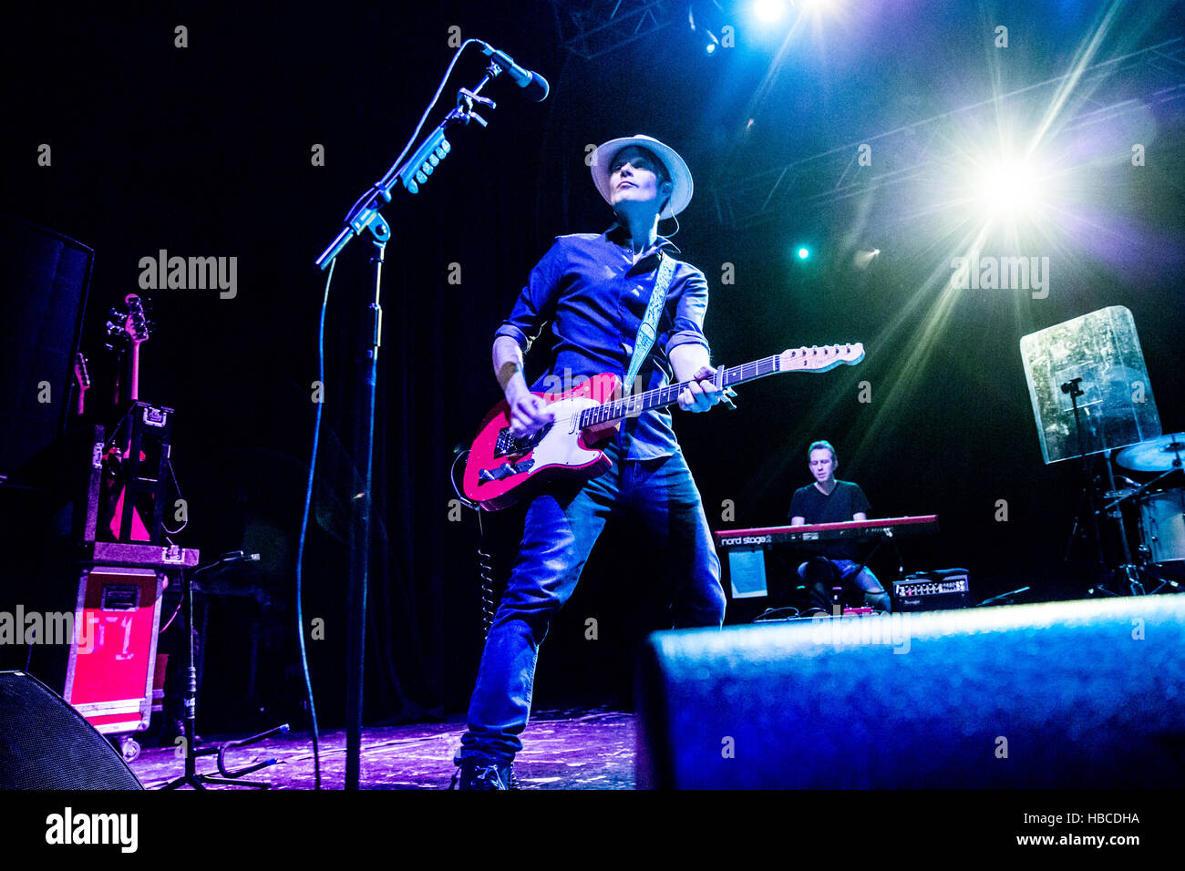 Bournemouth, UK. 4th Dec, 2016. The Fratellis live in concert at the O2 Academy Bournemouth Credit:  Charlie Raven/Alamy - Stock Image