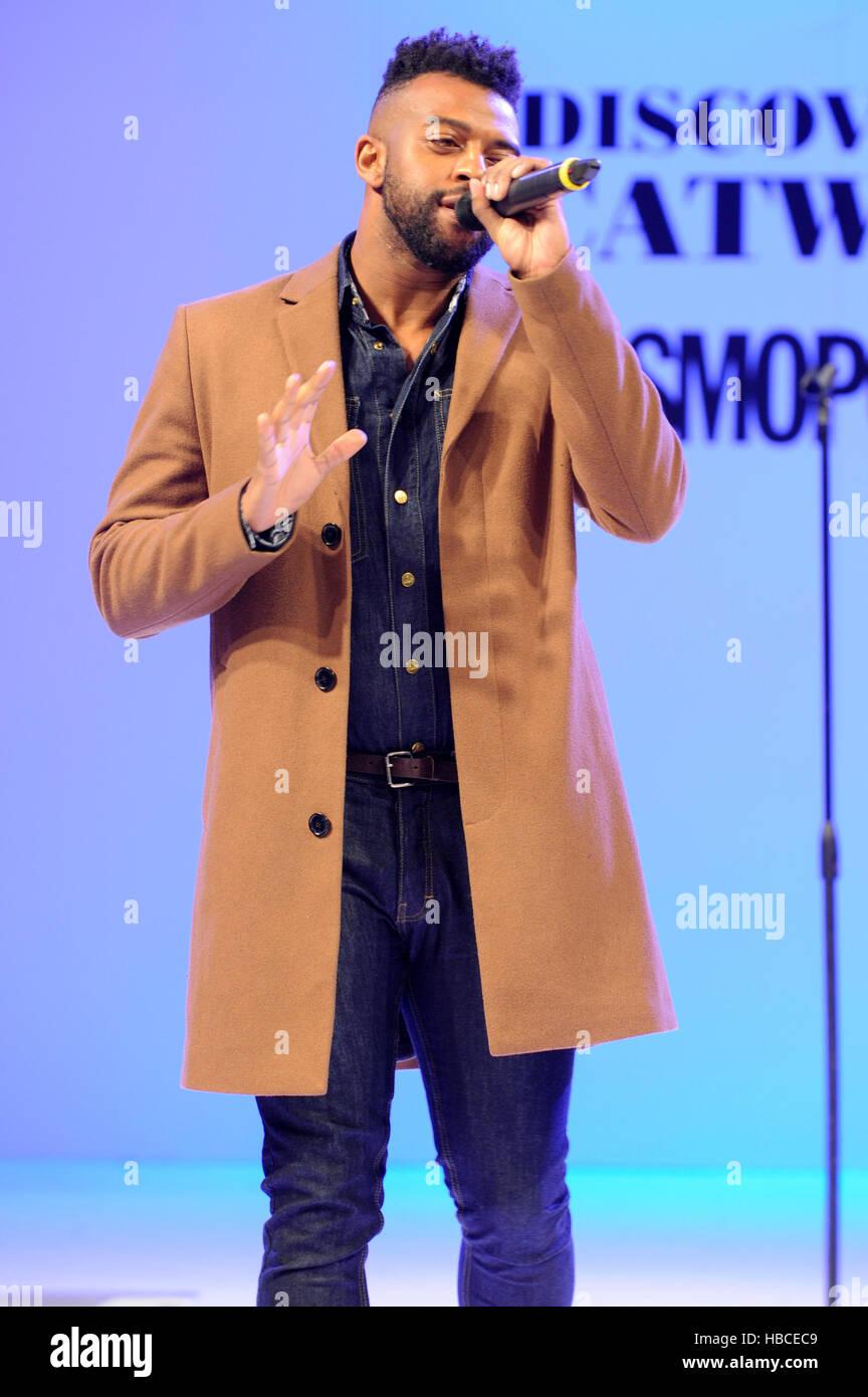 JLS founder Oritse Williams performed three songs on the
