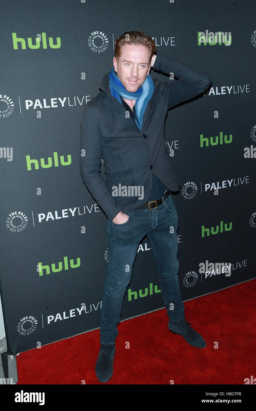 New York, USA. 5th December, 2016. Damian Lewis at 'PaleyLive NY Billions' at The Paley Center For Media - Stock Image