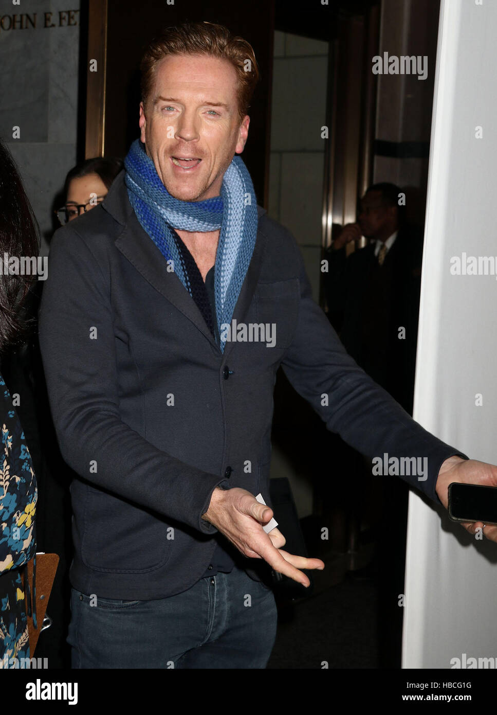 New York, USA. 5th Dec, 2016. Actor DAMIAN LEWIS attends The Paley Center for Media Presents: 'Billions' - Stock Image
