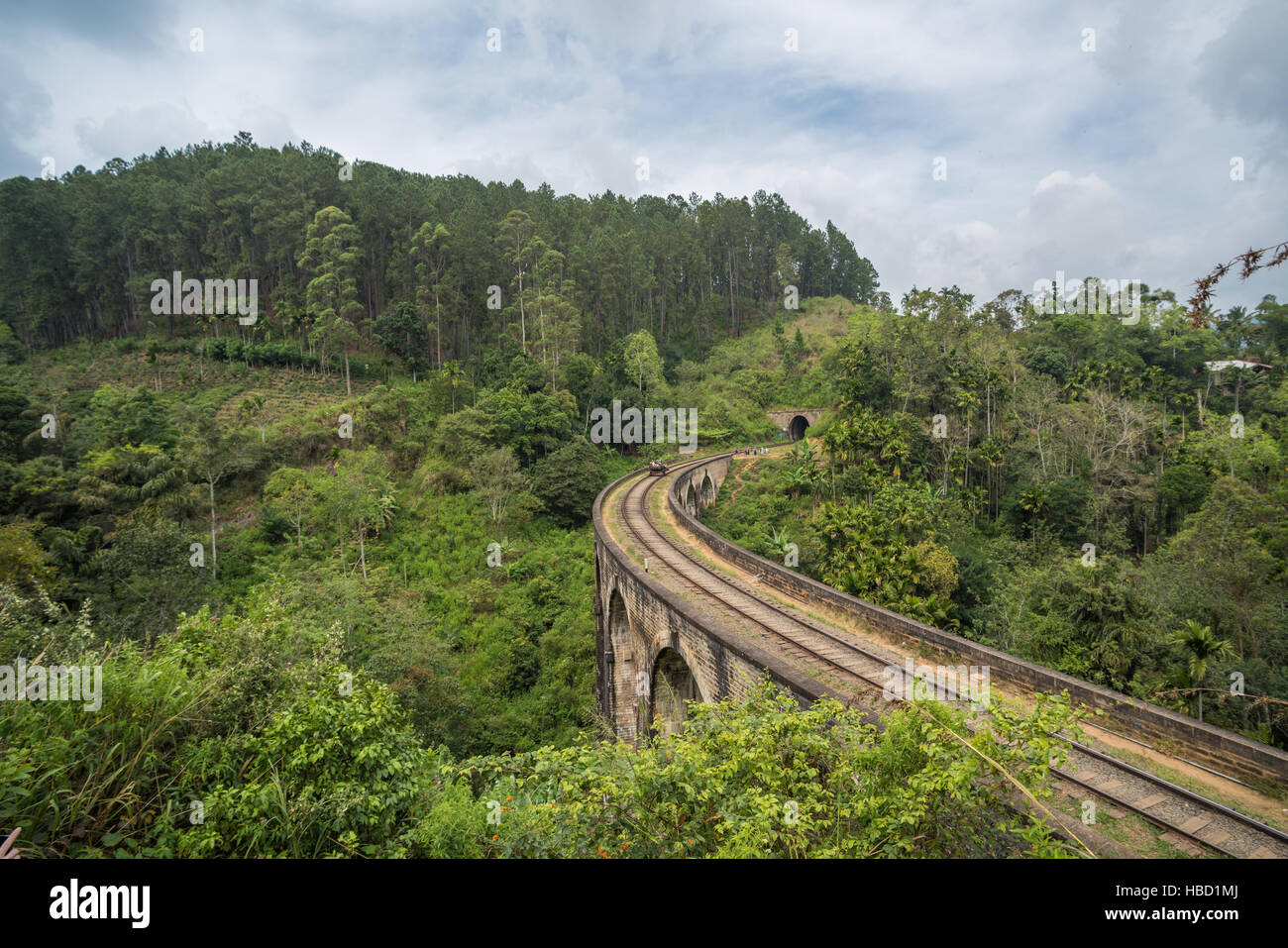 Nine arches bridge, Ella, Sri Lanka Stock Photo