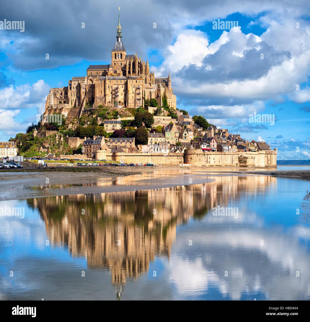 Mont Saint-Michel, France Stock Photo