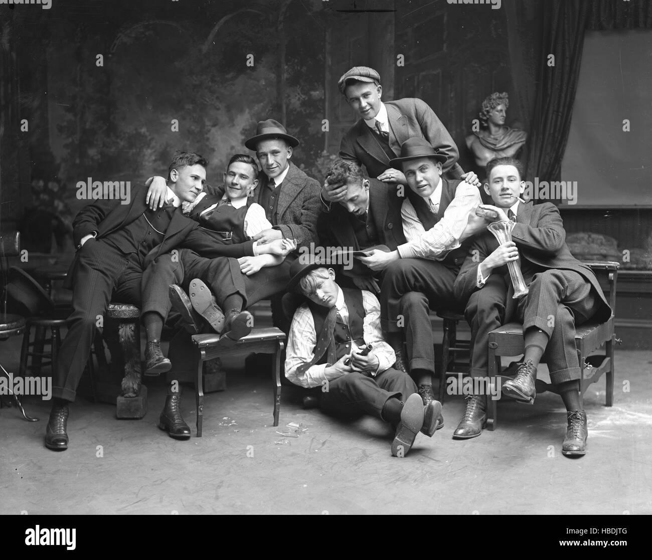 Richmond College Prohibition Club, 1914 - Stock Image