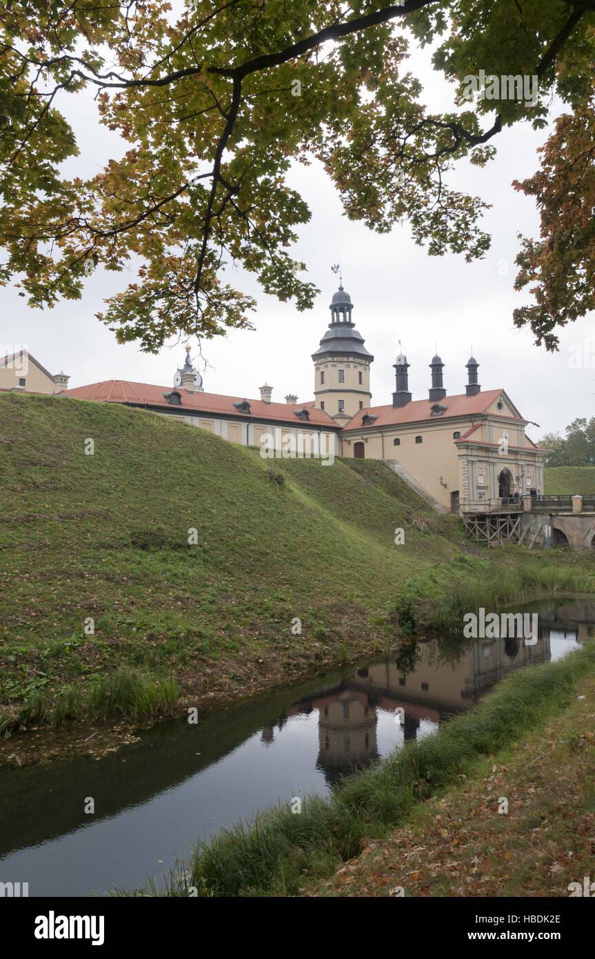 Belarus, Nesvizh castle - Stock Image