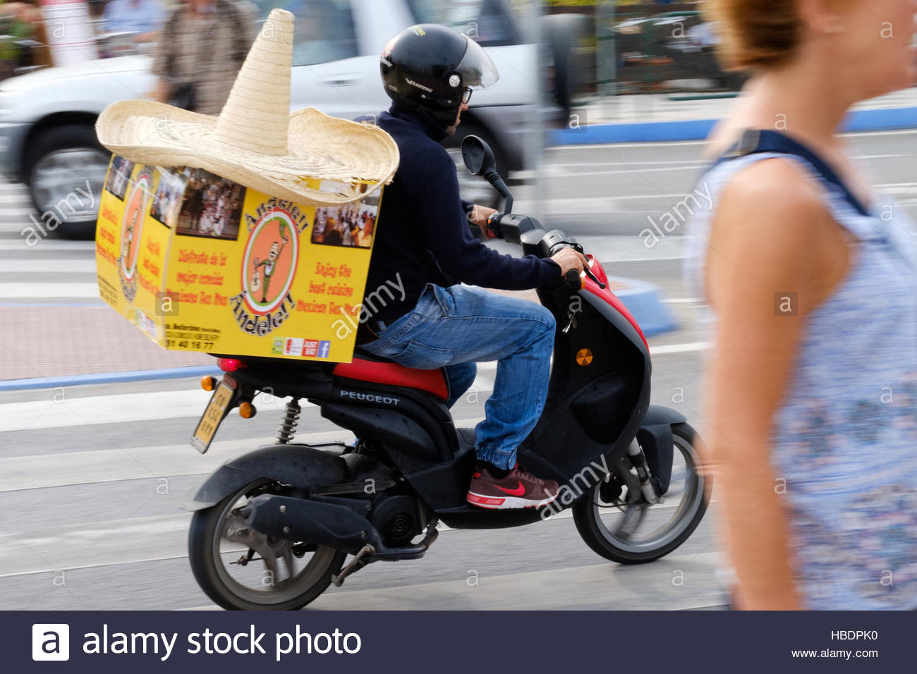 Location Scooter Food Delivery