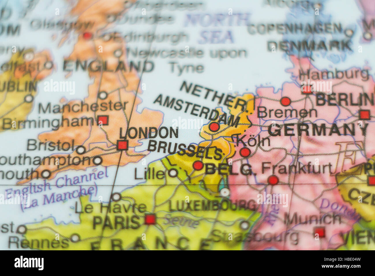Map Of Holland And Germany.Illustration Map Germany Holland Stock Photos Illustration Map