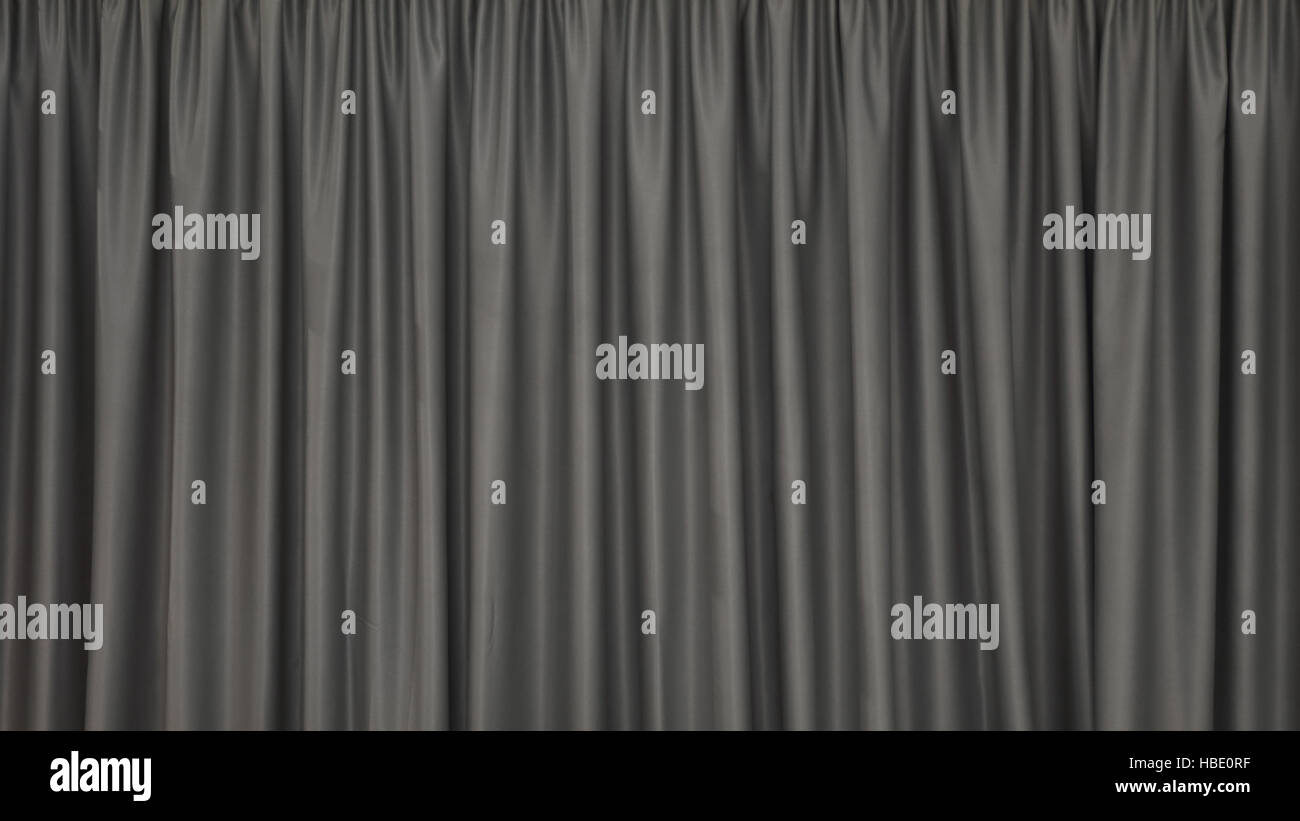 Curtains Backdrop - Stock Image