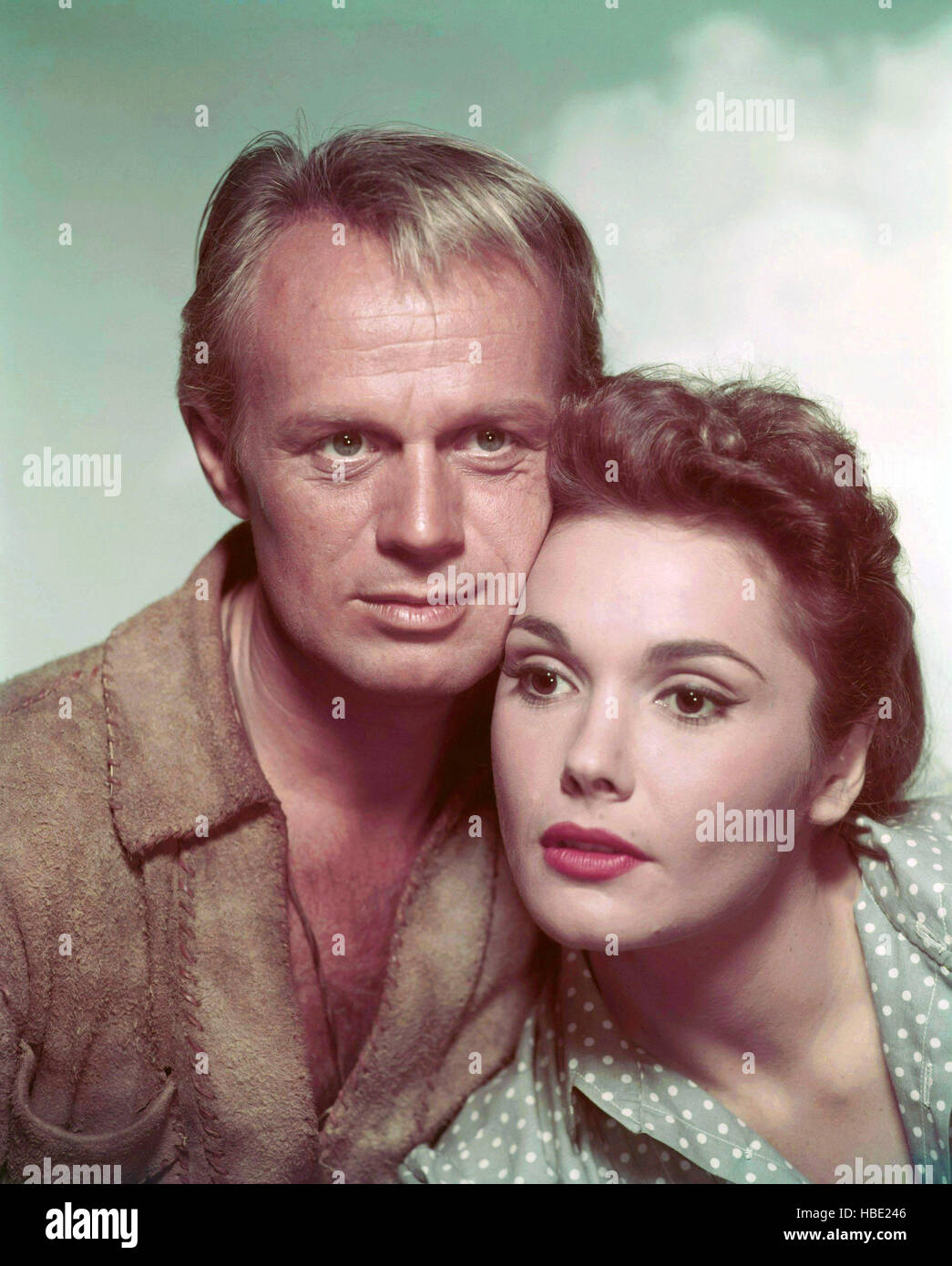 Felicia Fox the last wagon, richard widmark, felicia farr, 1956 tm and