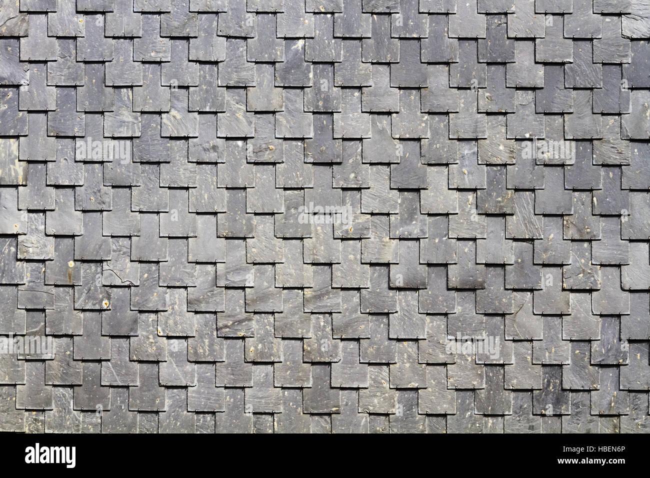 slatet wall Stock Photo