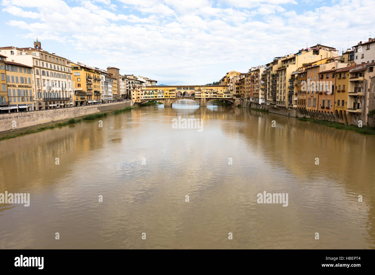 Ponte Vecchio Bridge - Stock Image