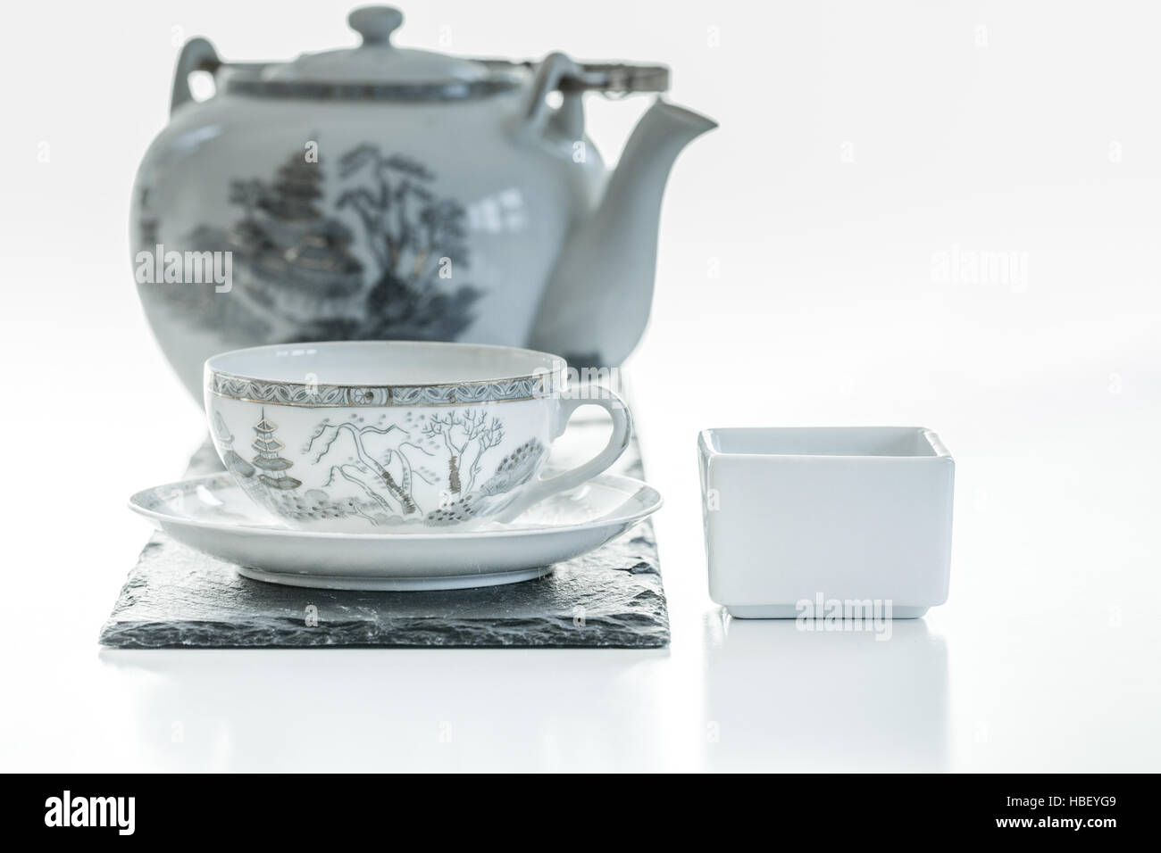 Its tea time - Stock Image