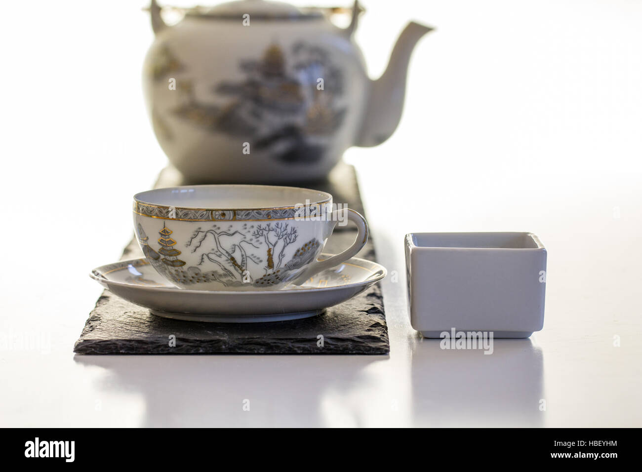 Its tea time! - Stock Image