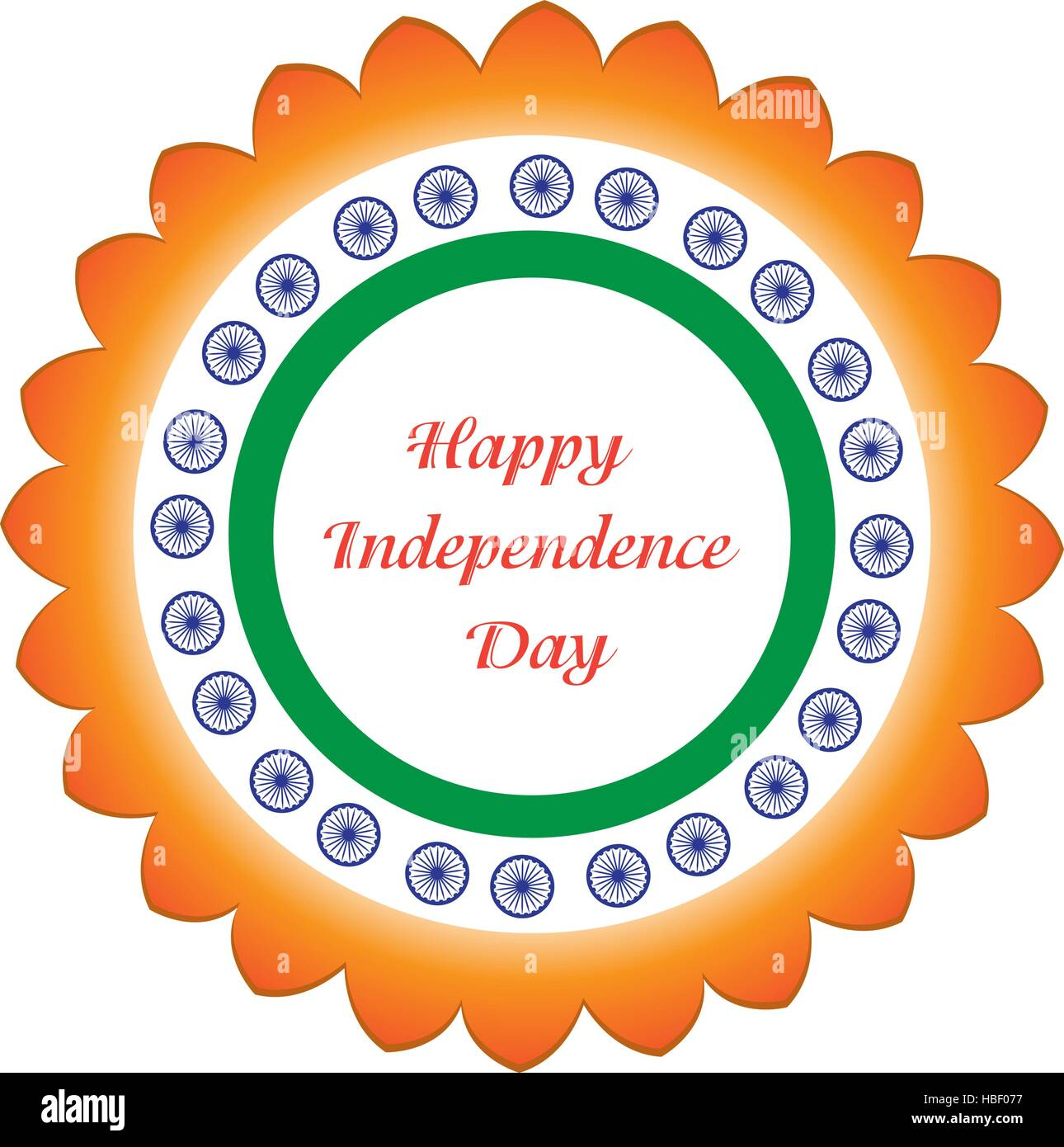 Happy Independence Day India Card Stock Photos Happy Independence
