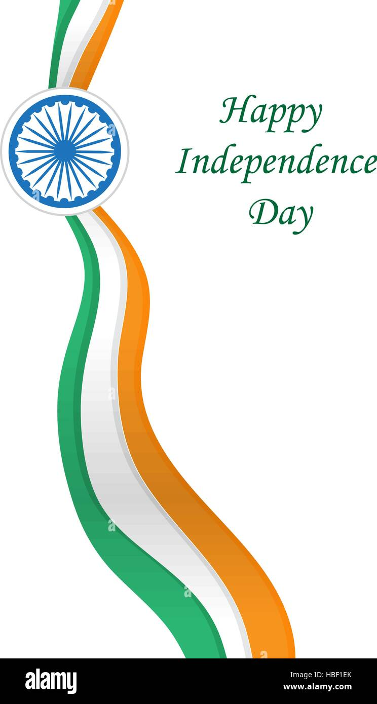 Happy India Independence Day Independence Day India Greeting Card