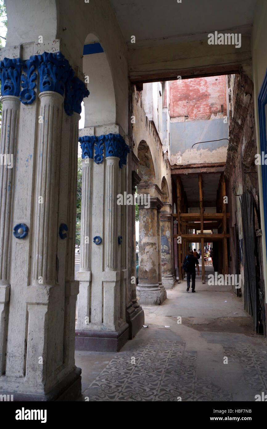 Baustelle Havanna Stock Photo