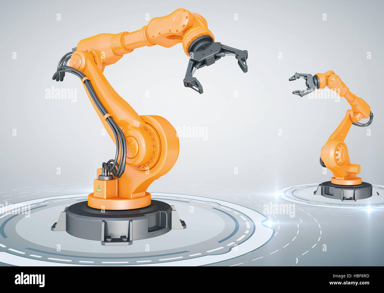 Assembly line - Stock Image