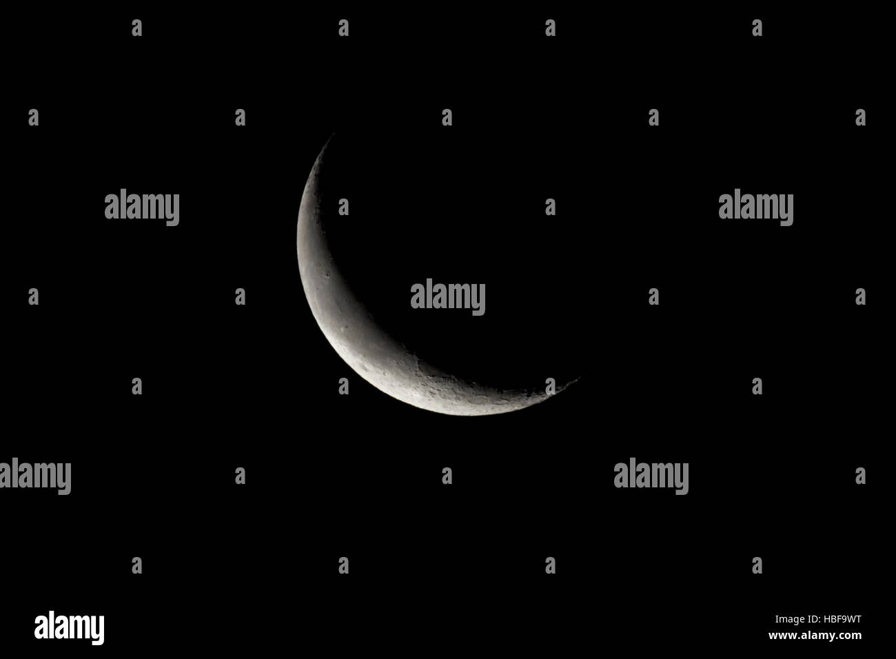 Lunar Cycle Stock Photos Images Alamy Moon Phase Diagram 3 Phases 26 Day Old Waning Crescent 14 Visible Image