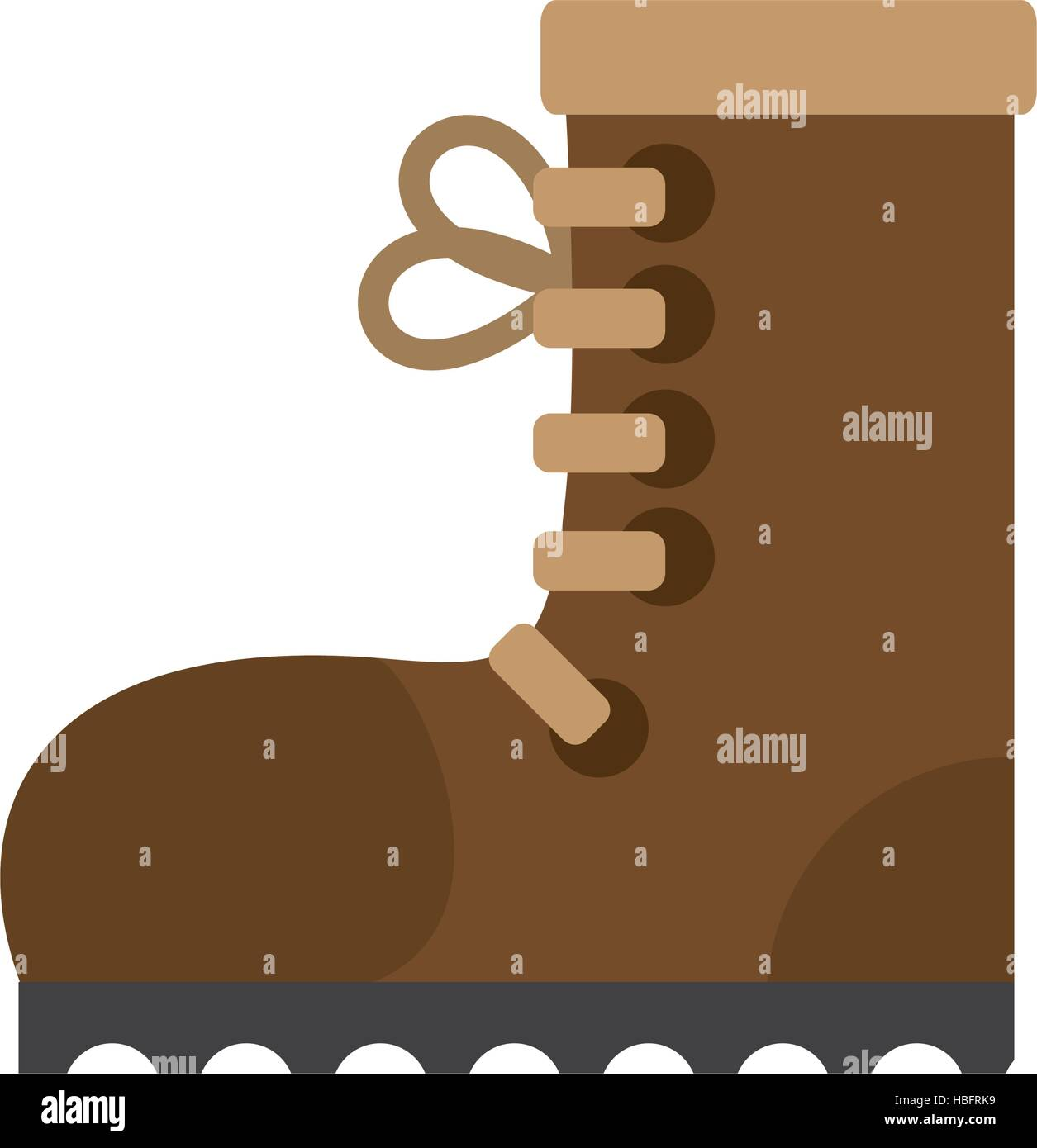 industrial boot safety worker industrial vector illustration eps 10 - Stock Image