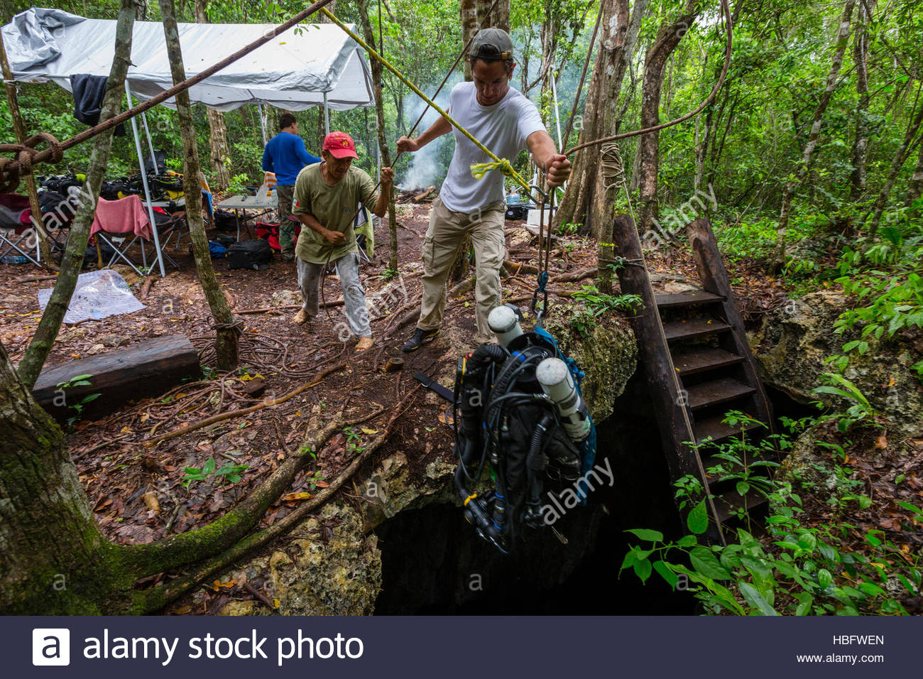 Rebreathers High Resolution Stock Photography And Images Alamy The forest is an open world survival horror game where you can craft, build and hunt in the fight for survival. alamy