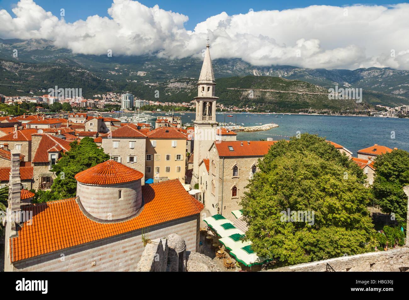 Budva in Montenegro Stock Photo