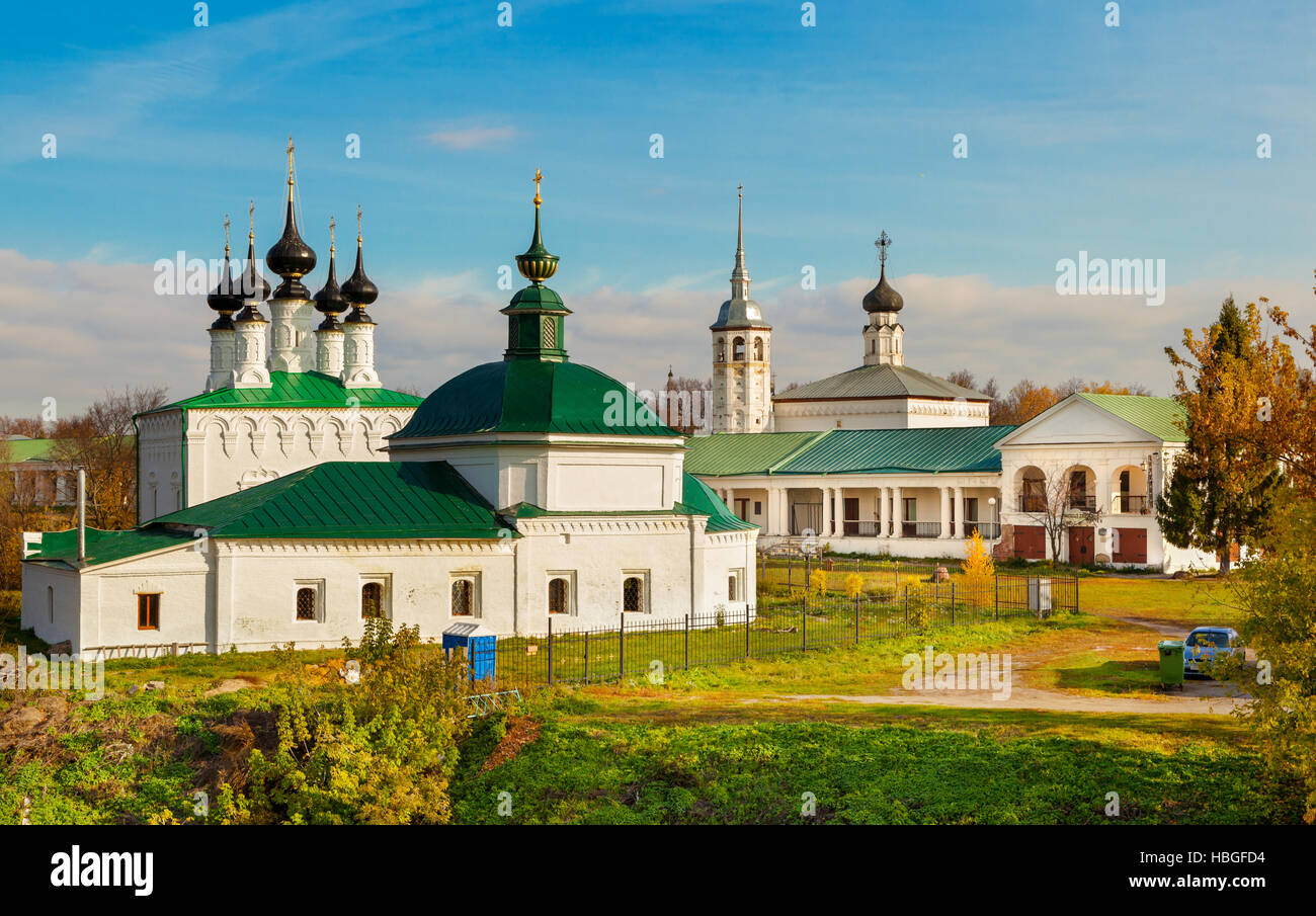 Suzdal. Golden Ring of Russia - Stock Image