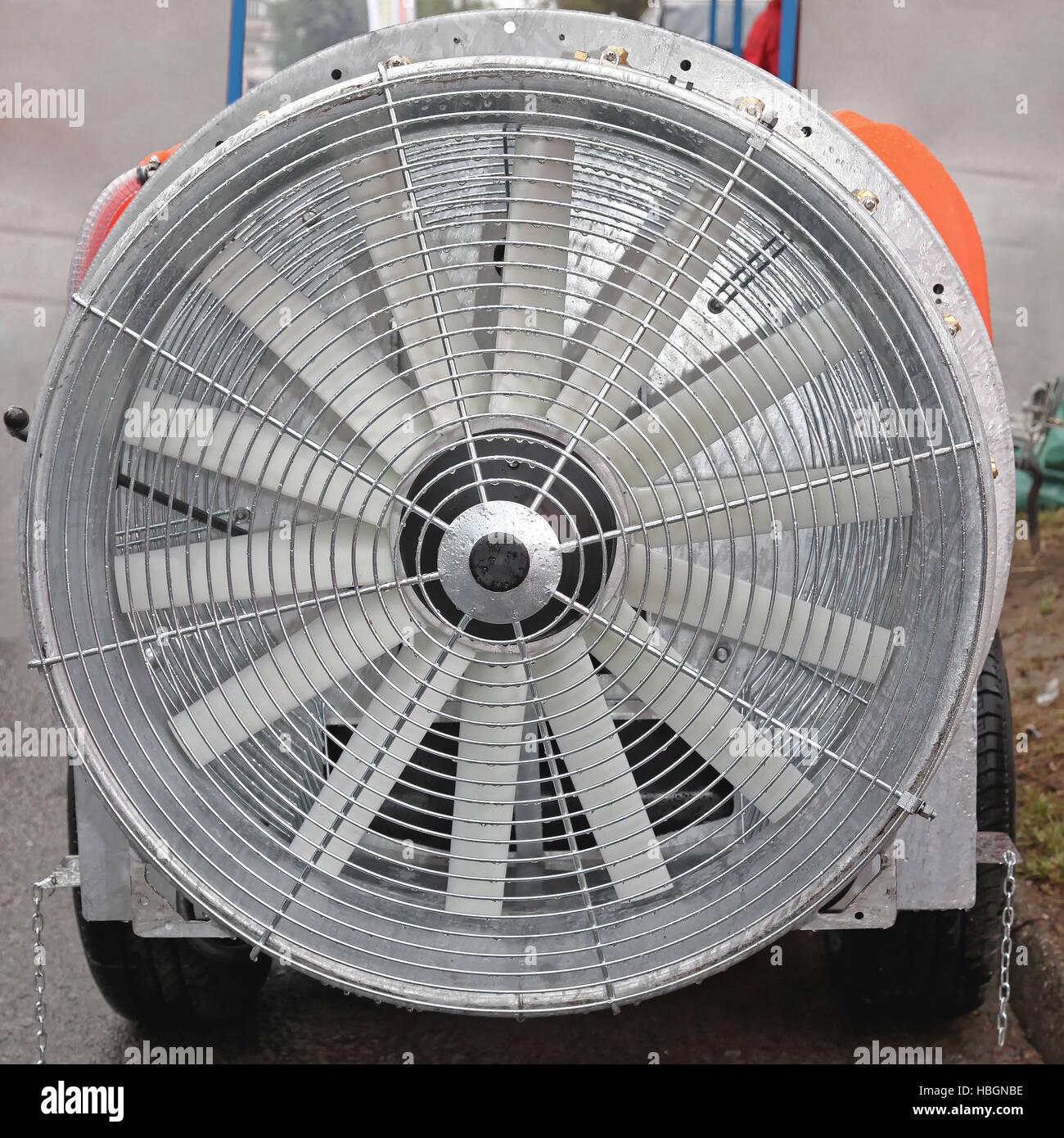 Axial Fan - Stock Image