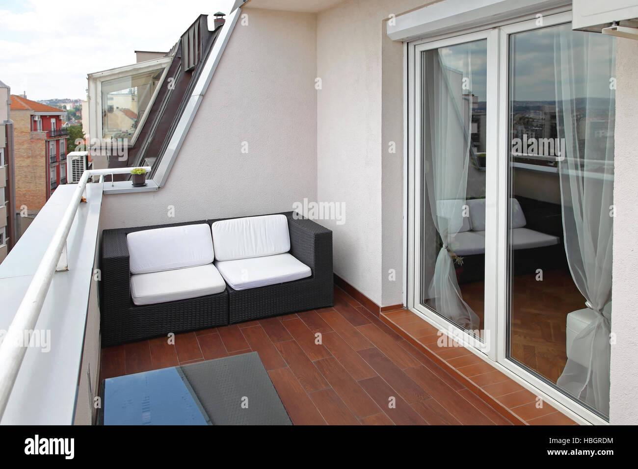 Terrace - Stock Image