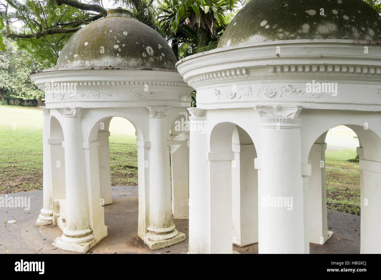 The Cupolas in Singapore - Stock Image