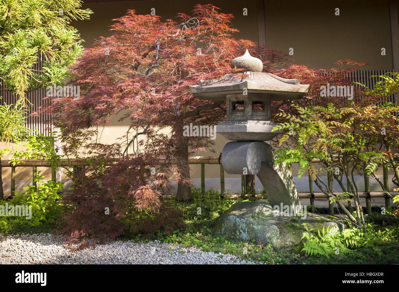 Japanese Garden Fence Stock Photos & Japanese Garden Fence Stock ...