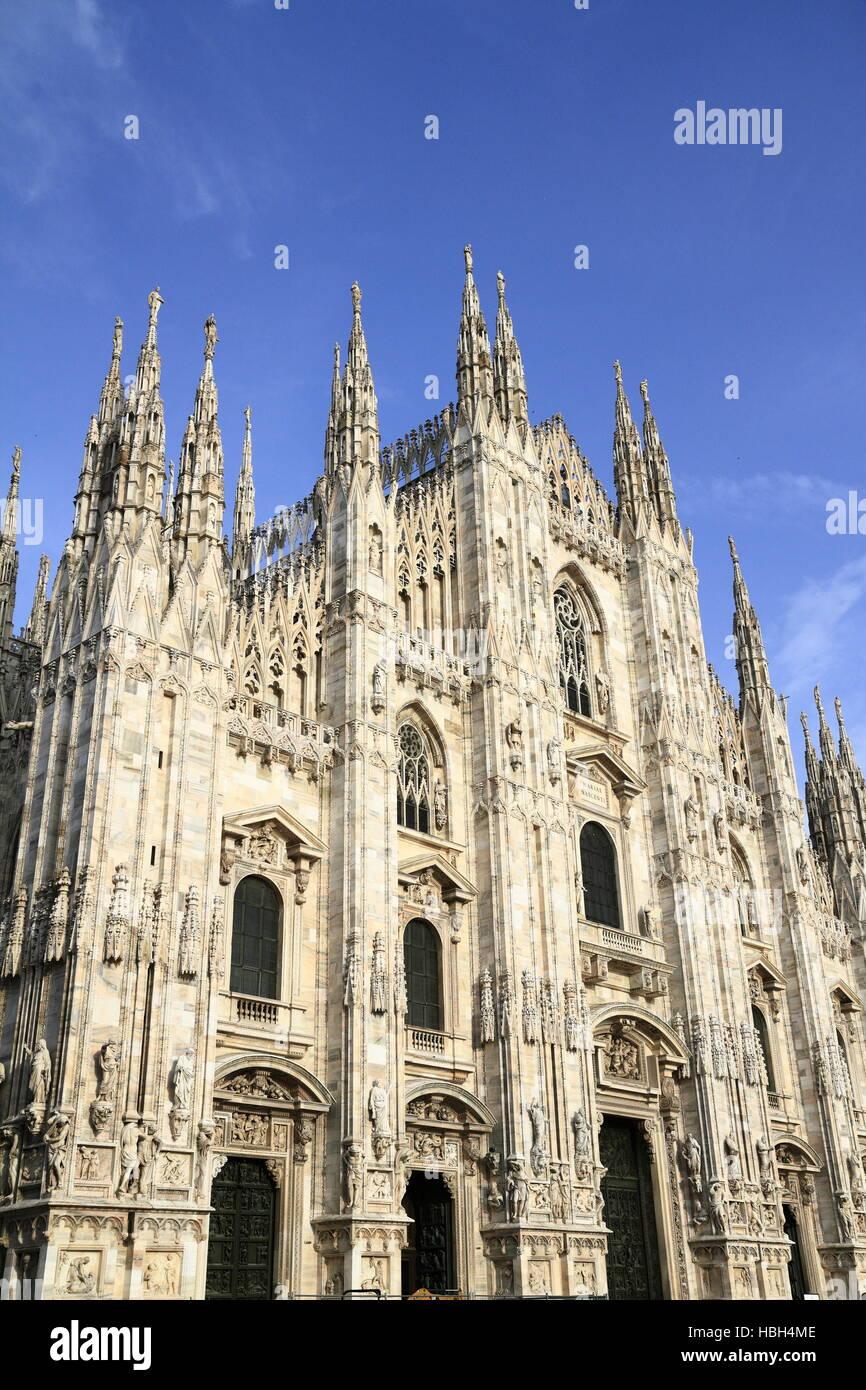 Duomo di Milano, Milan Cathedral - Stock Image