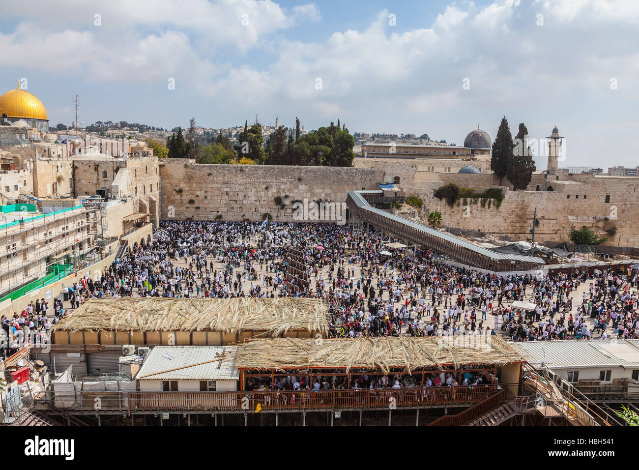 Jerusalem, Sukkot - Stock Image