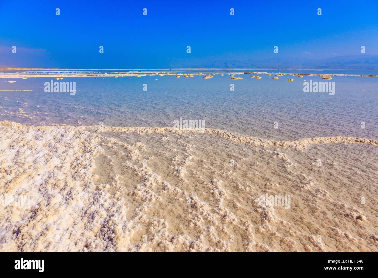 Vaporized salt - Stock Image