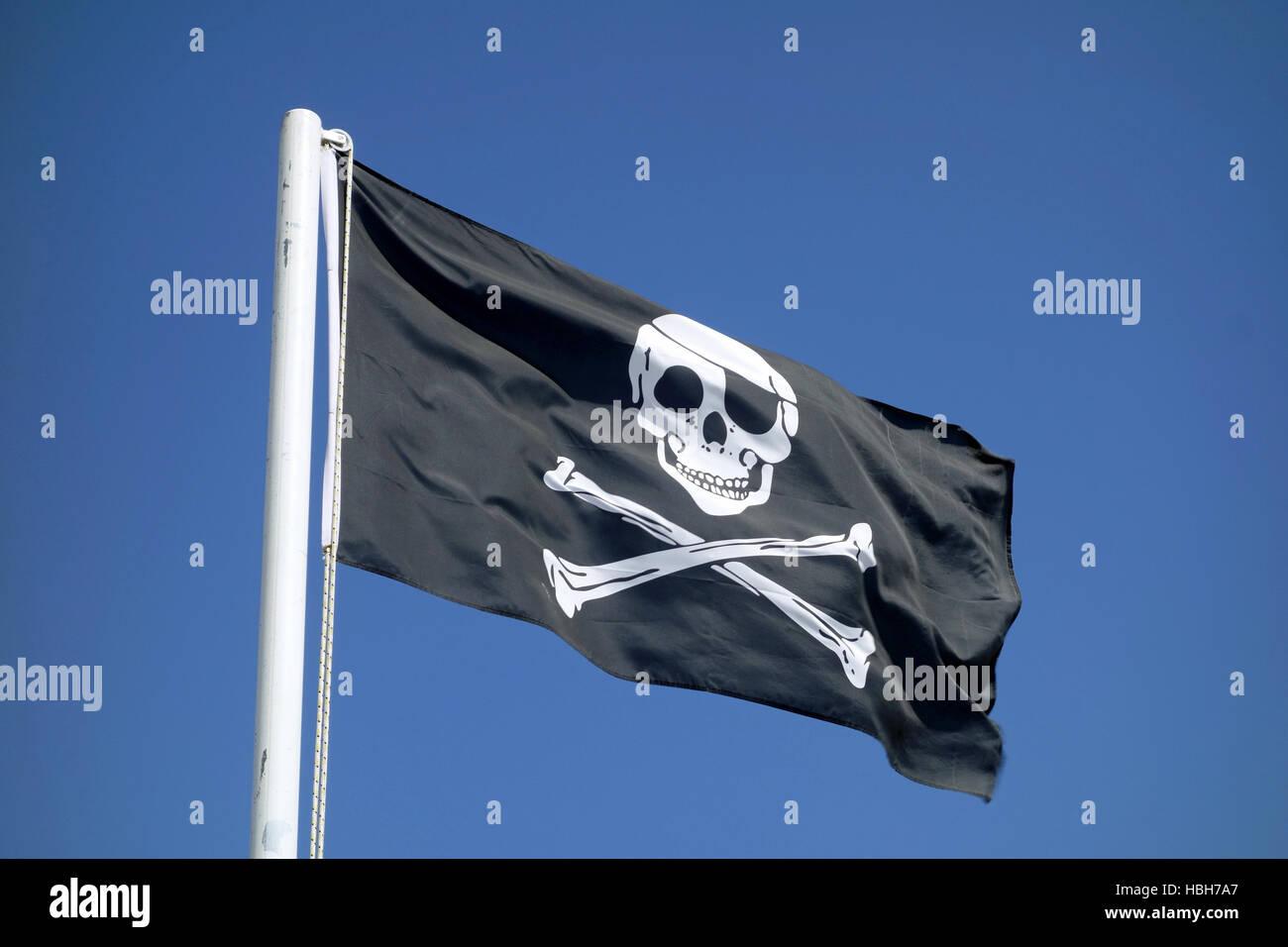 Jolly Roger - Stock Image