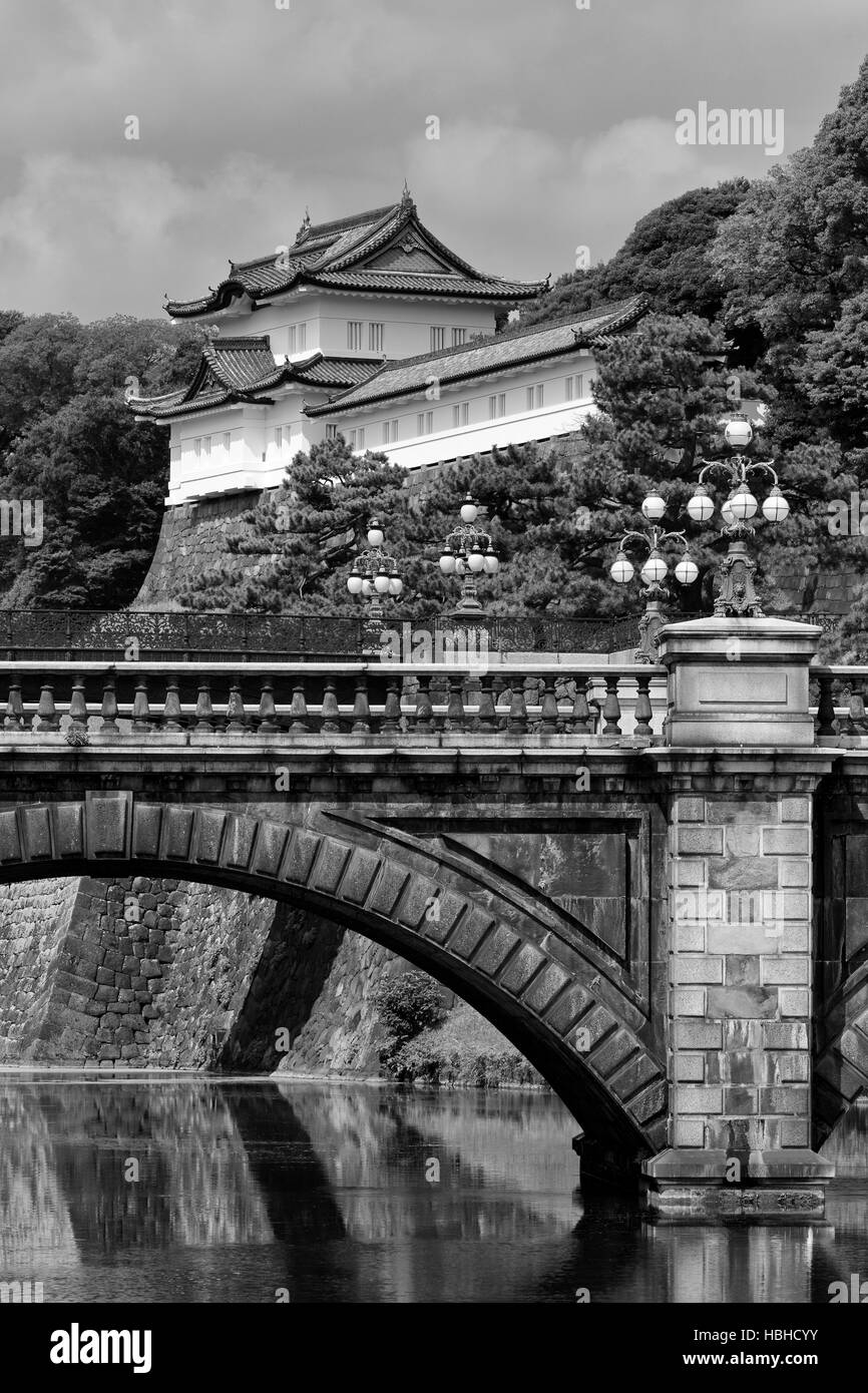 Imperial Palace, Tokyo, Japan, Asia - Stock Image