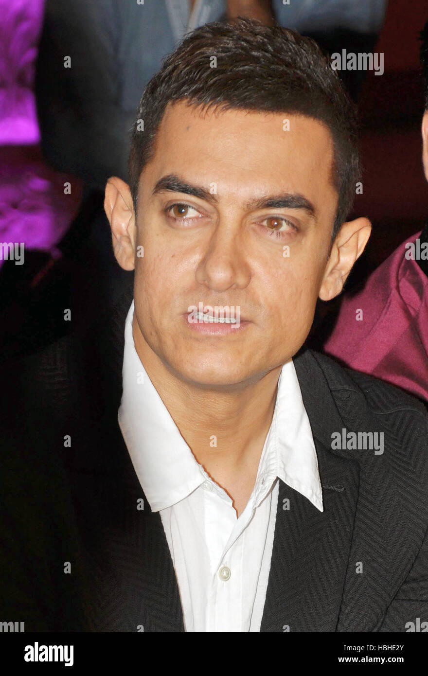 Bollywood actor Aamir Khan promotion upcoming film Talaash on the sets television show  Star Plus in Mumbai - Stock Image