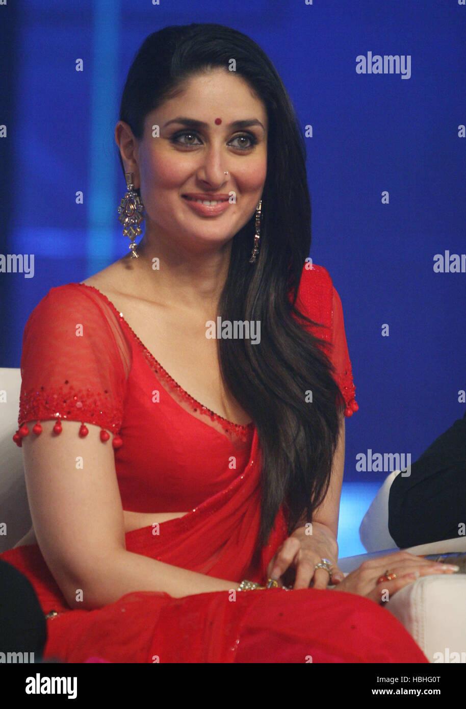 bollywood actress kareena kapoor press conference during music stock