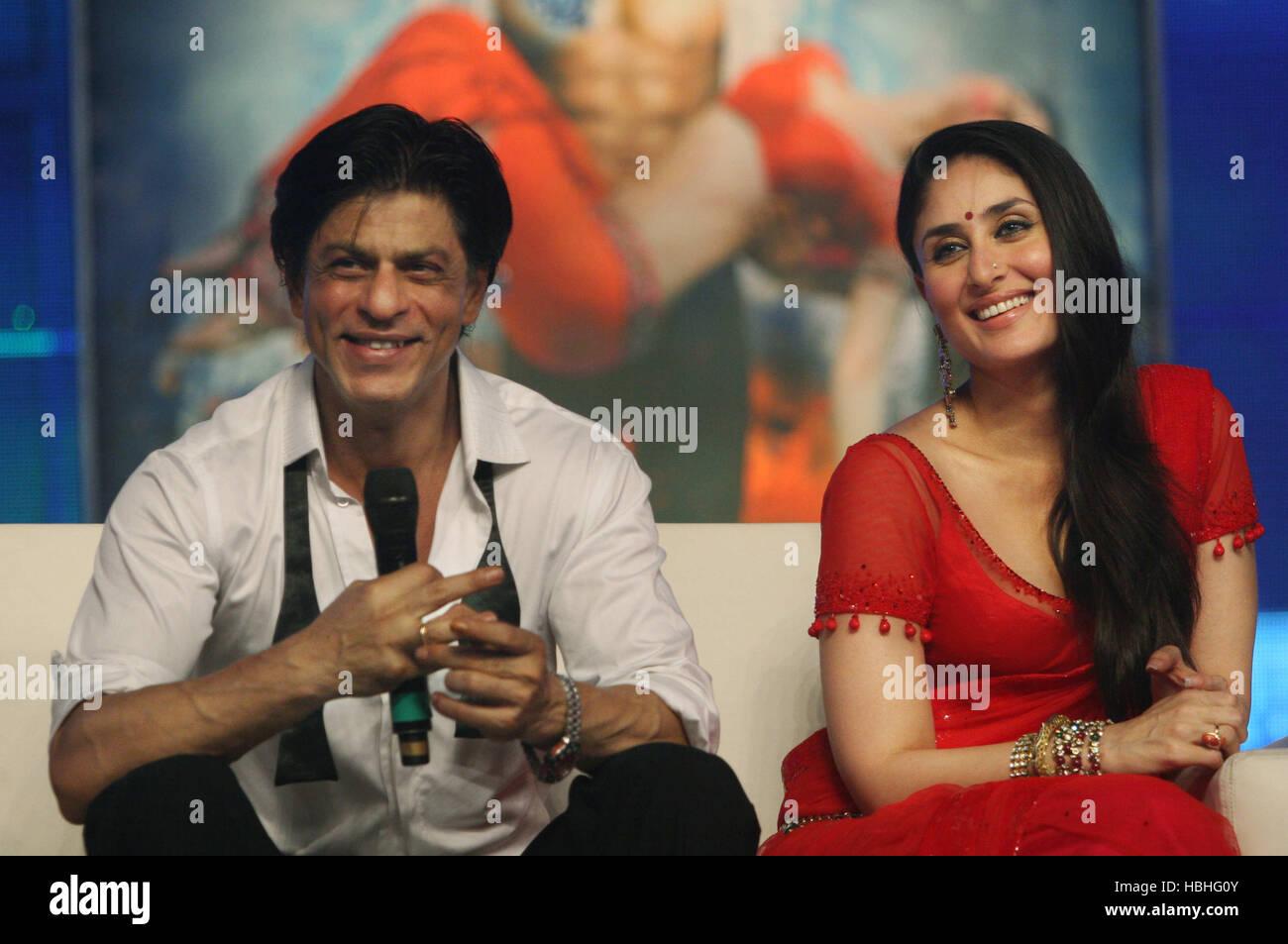 bollywood actors shah rukh khan kareena kapoor press conference
