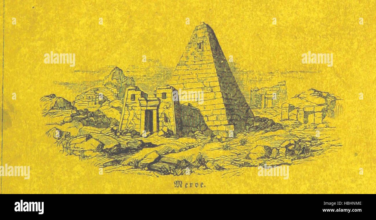 Image taken from page 7 of 'Briefe aus Ægypten, Æthiopien, - Stock Image