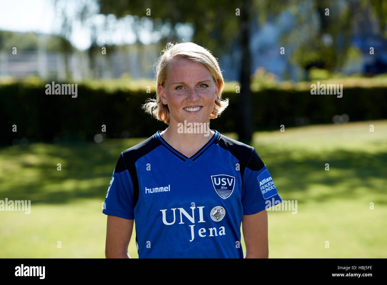 Marie-Luise Herrmann - Stock Image