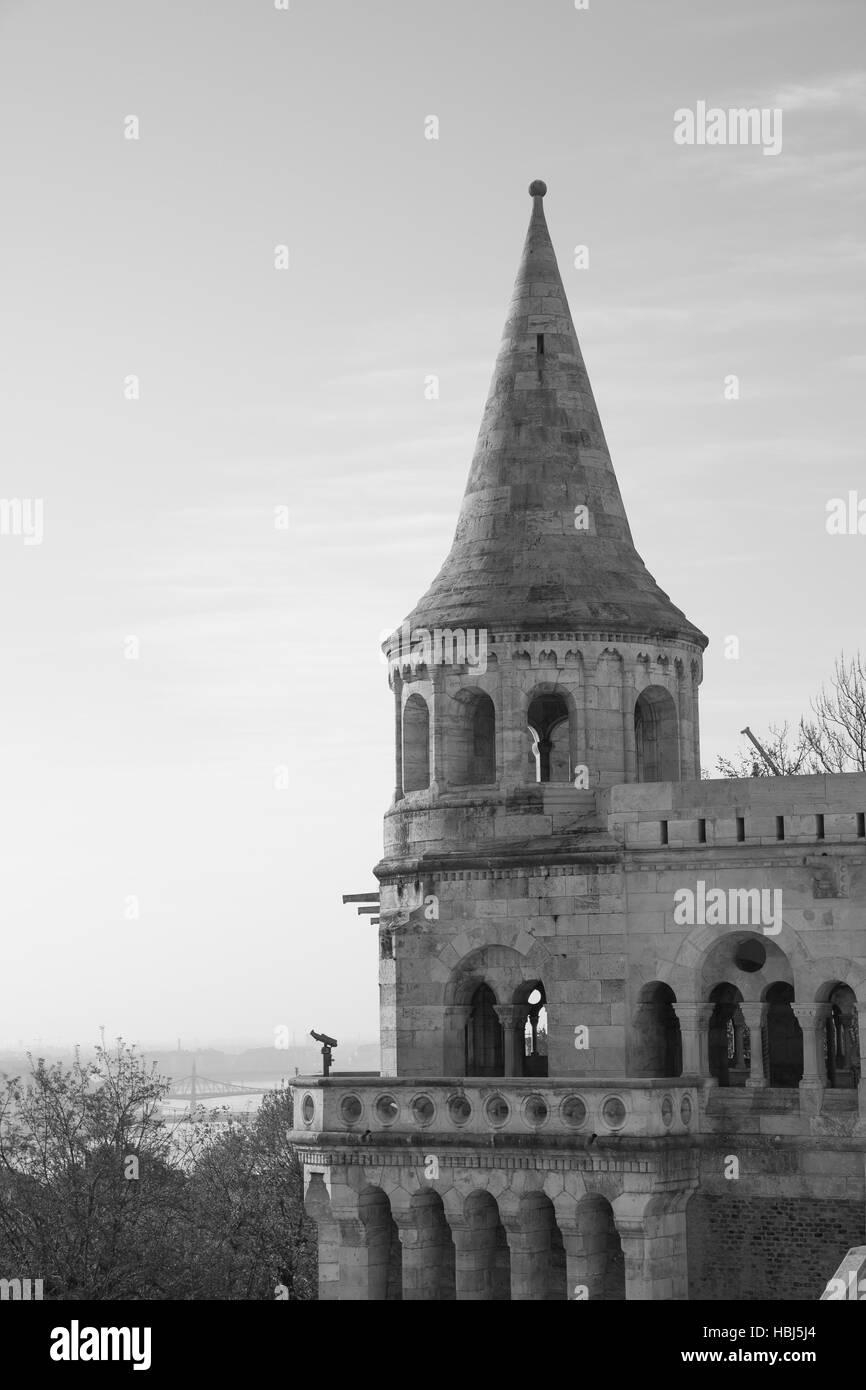 Budapest Fisherman's Bastion - Stock Image