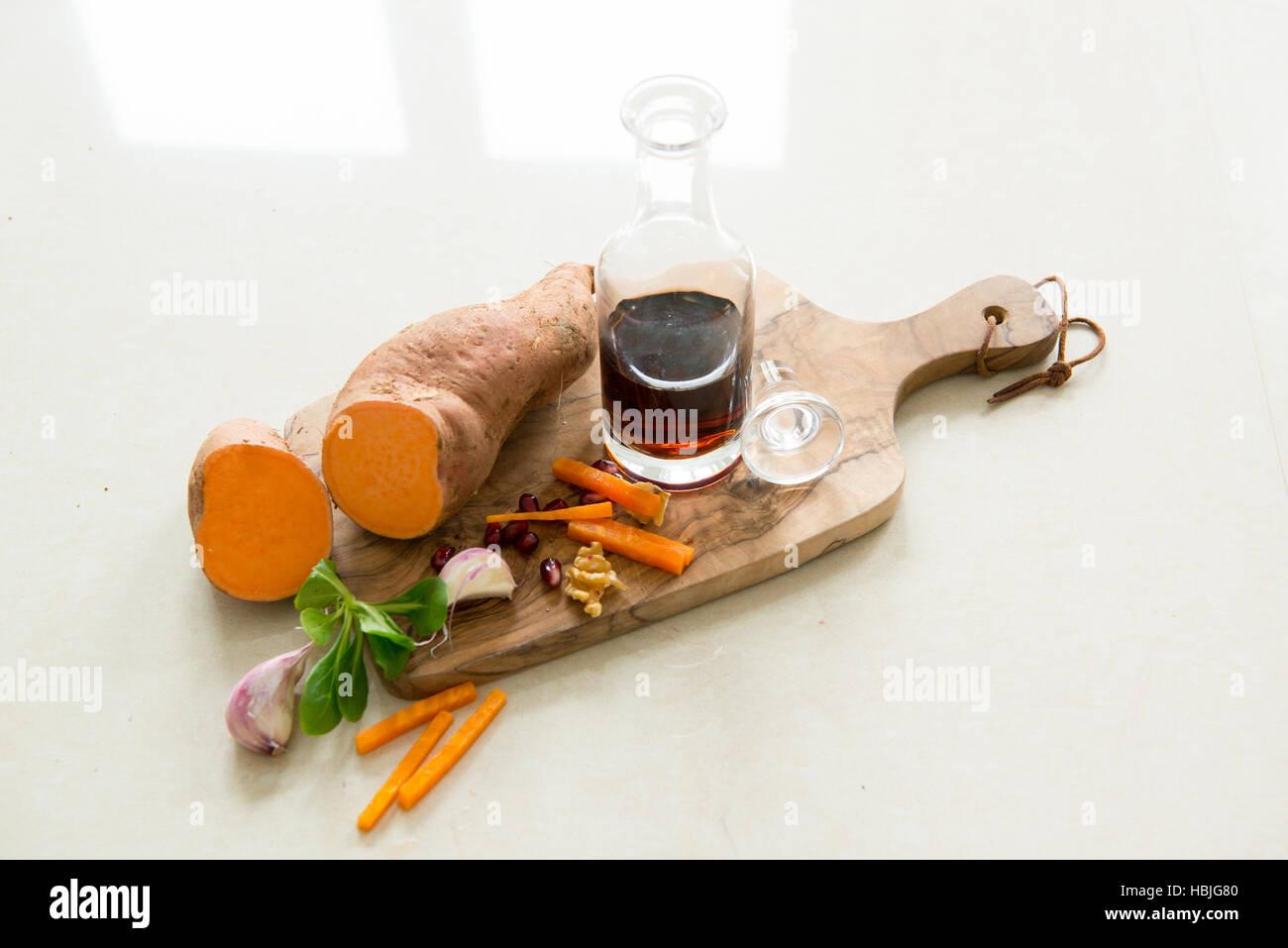 sweet potatoes - Stock Image