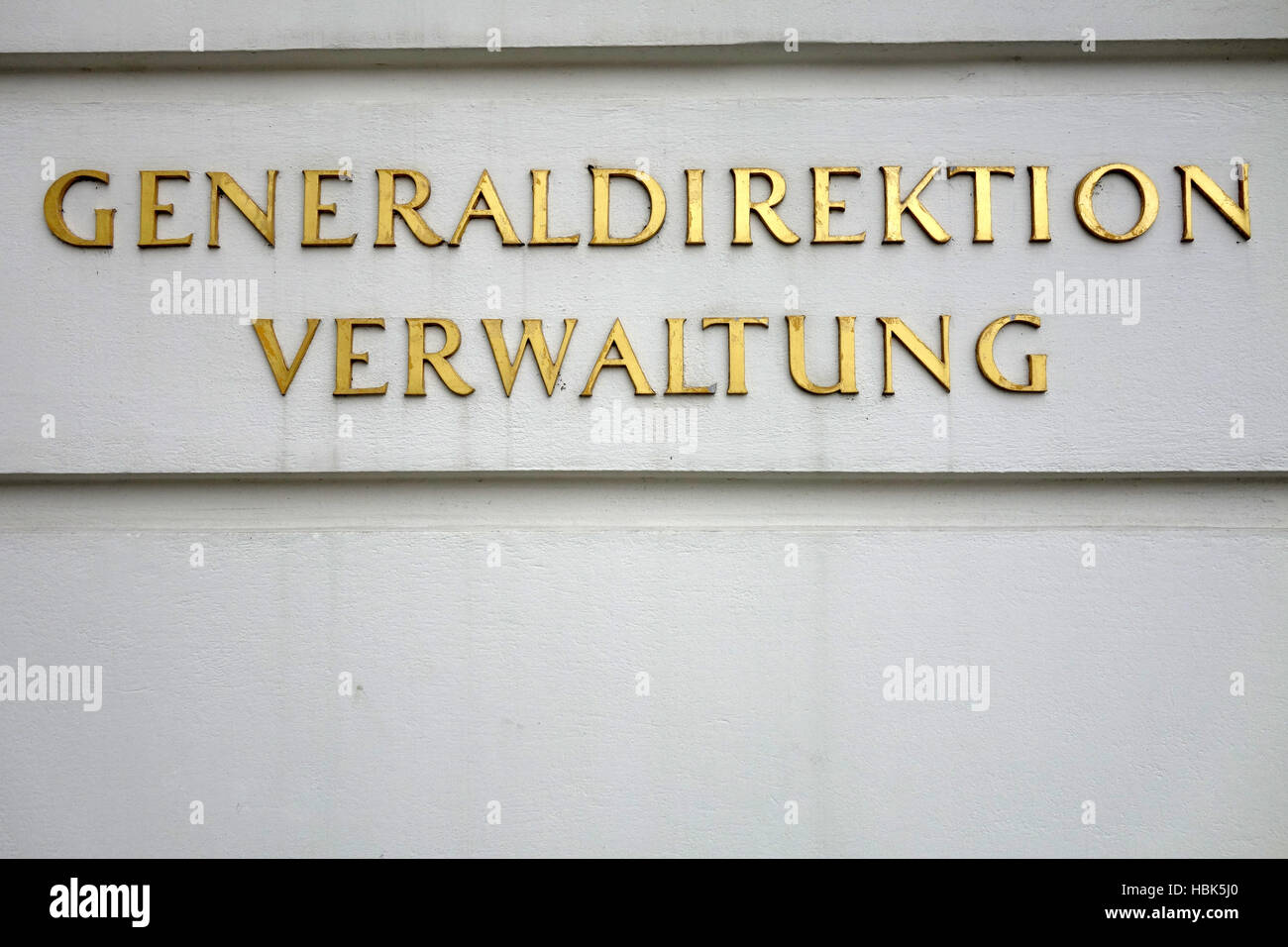 General Administration Stock Photo