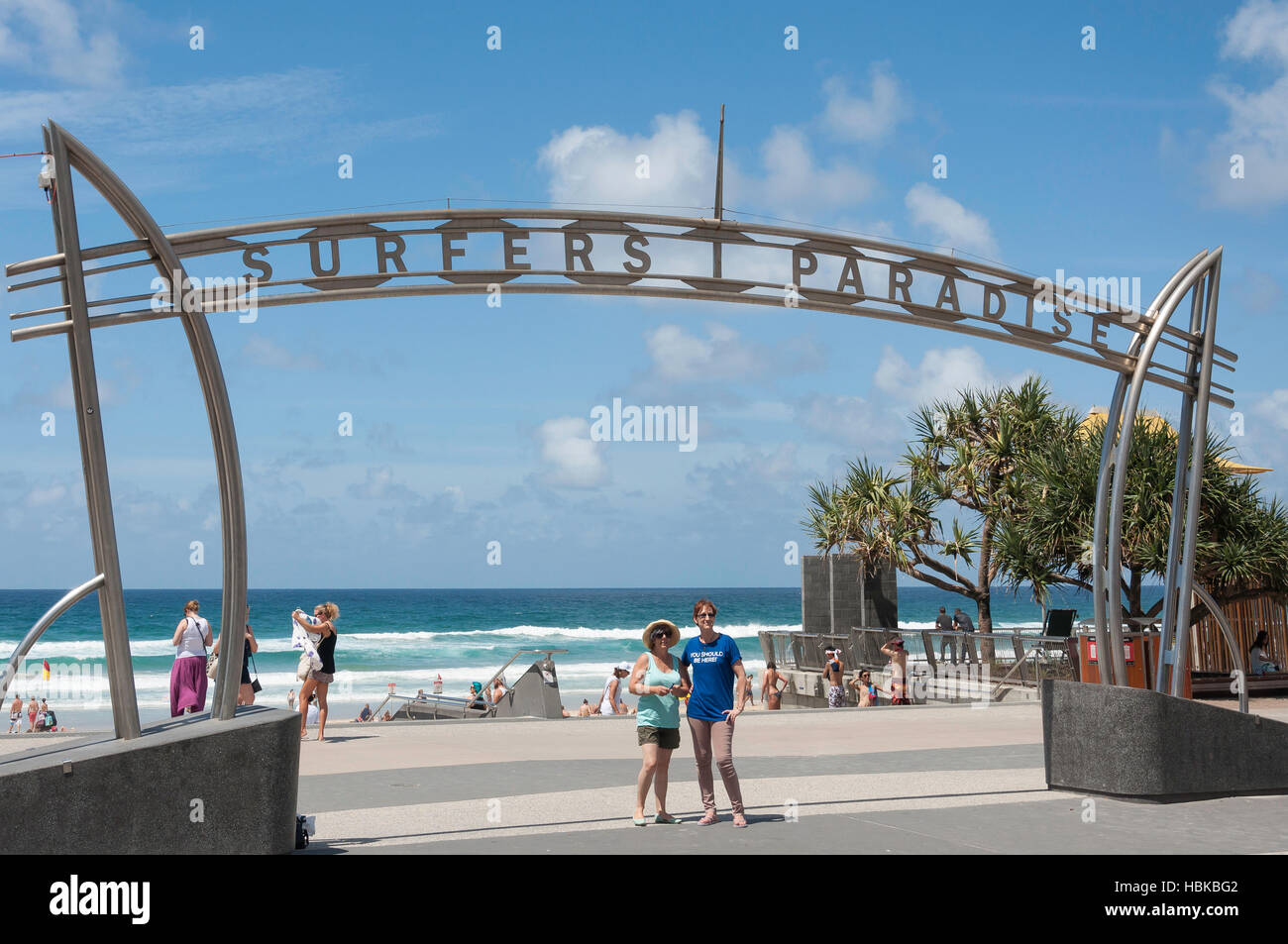 Surfers Paradise Sign Australia High Resolution Stock Photography And Images Alamy